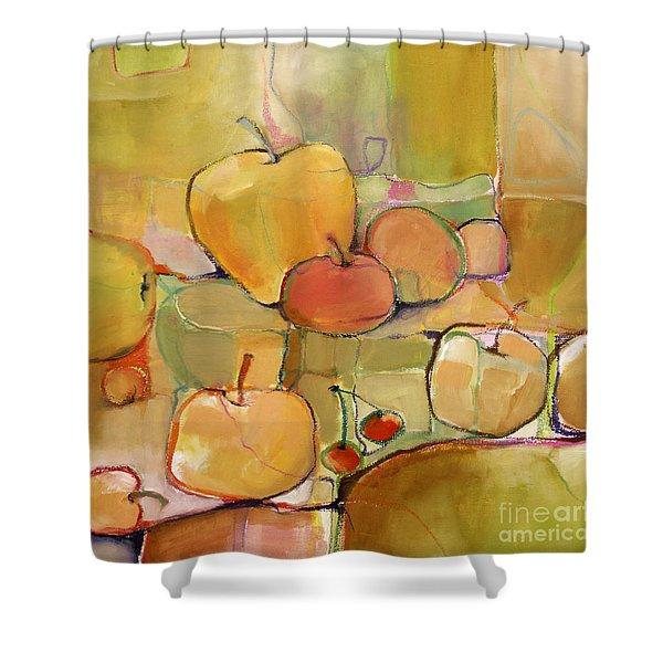 Fruit Still Life Shower Curtain