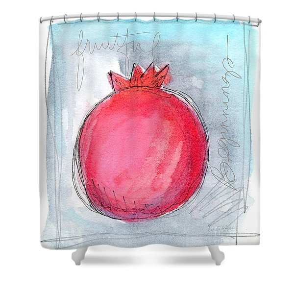 Fruitful Beginning Shower Curtain