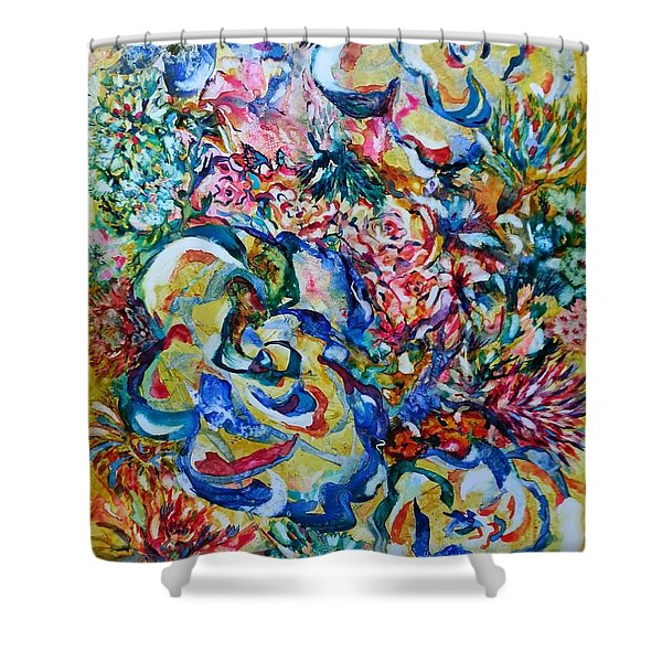 Fulfilling Life Shower Curtain