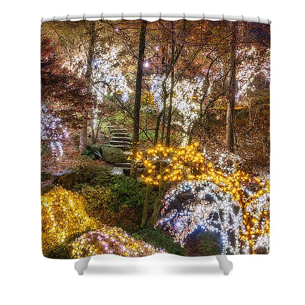 Golden Valley - Full Height Shower Curtain