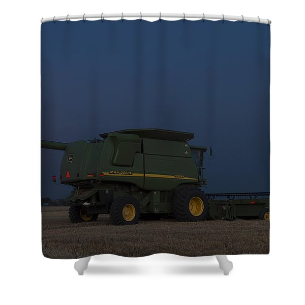 Full Moon And Combine Shower Curtain
