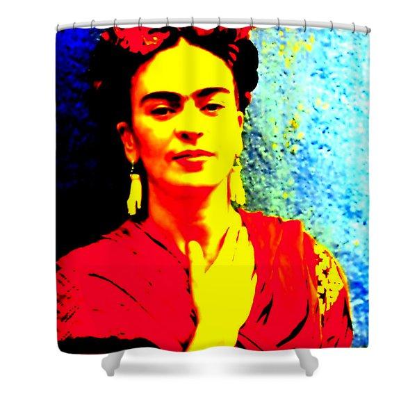 Funky Frida IIi Shower Curtain