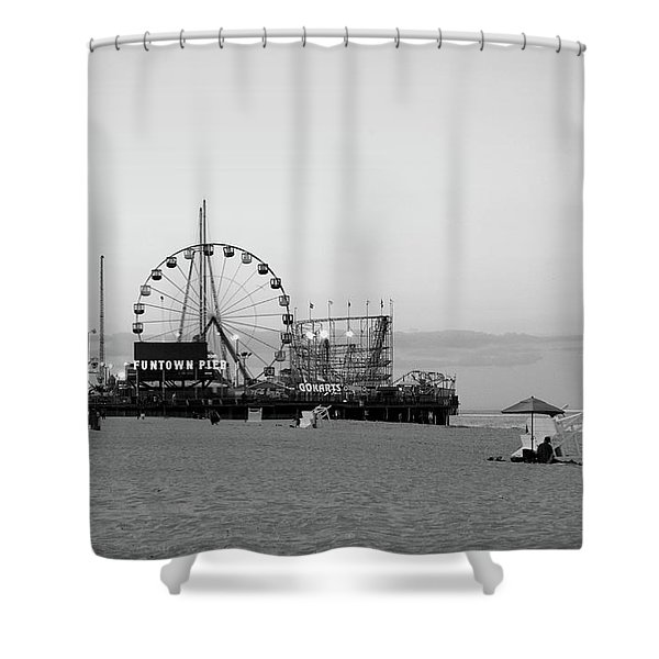 Funtown Pier - Jersey Shore Shower Curtain