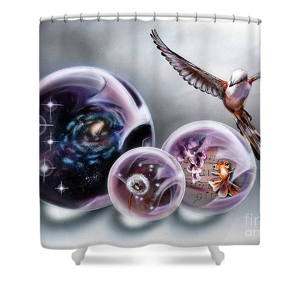 Fuse Shower Curtain
