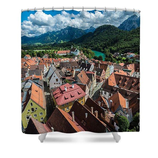 Fussen - Bavaria - Germany Shower Curtain