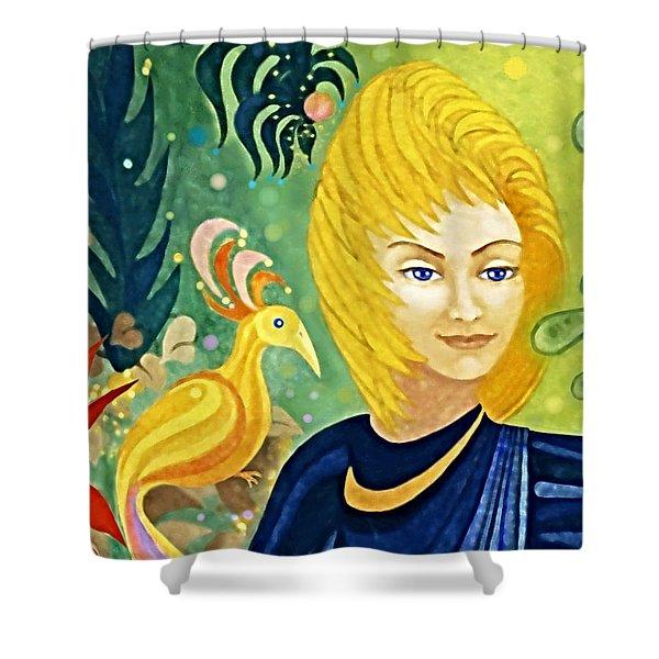 Gaia - Spirit Of Nature Shower Curtain