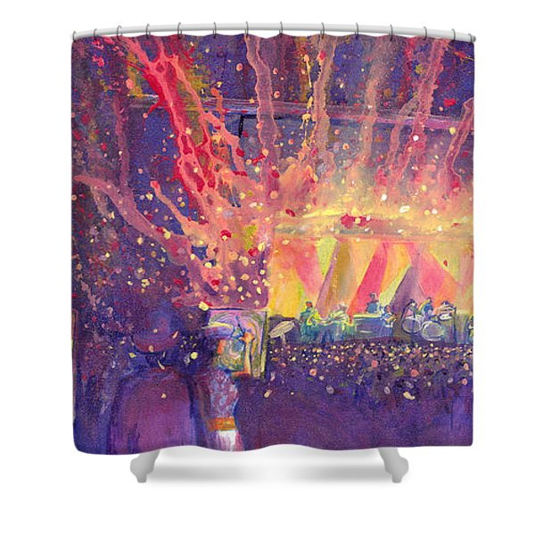Galactic At Arise Music Festival Shower Curtain
