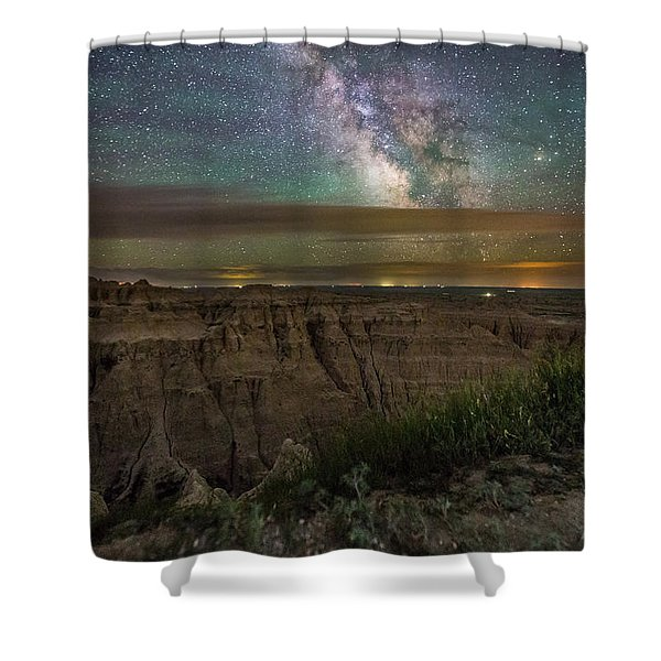 Galactic Pinnacles Shower Curtain