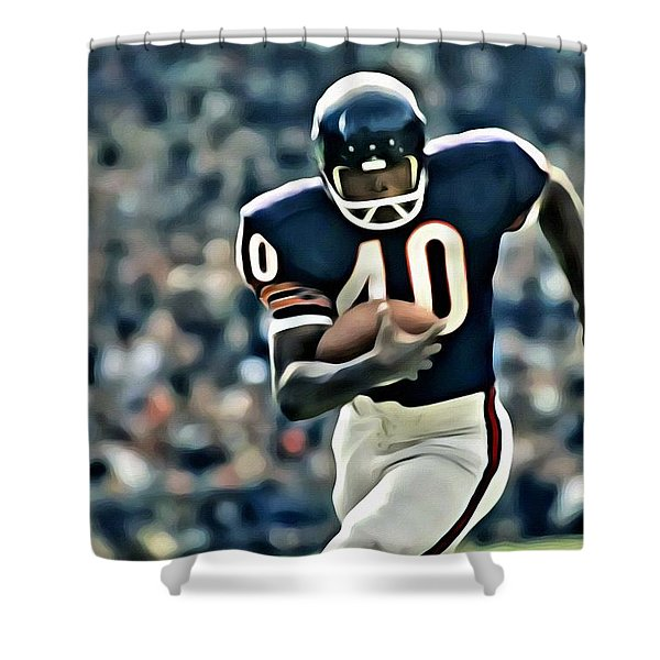 Gale Sayers Shower Curtain