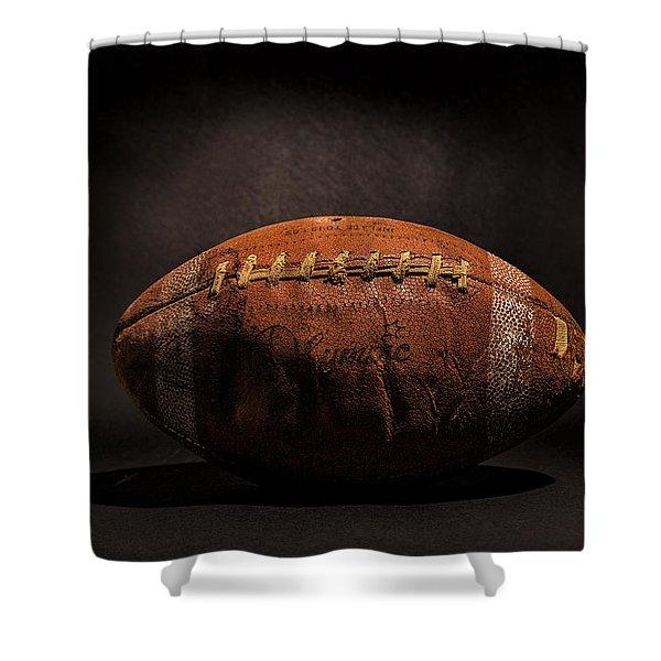 Game Ball Shower Curtain