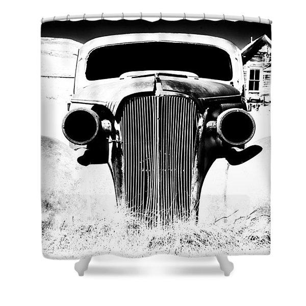 Gangster Car Shower Curtain