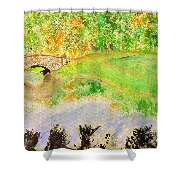 Gapstow Shower Curtain