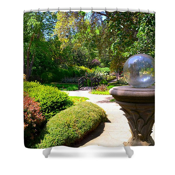 Garden Of Wishes Shower Curtain