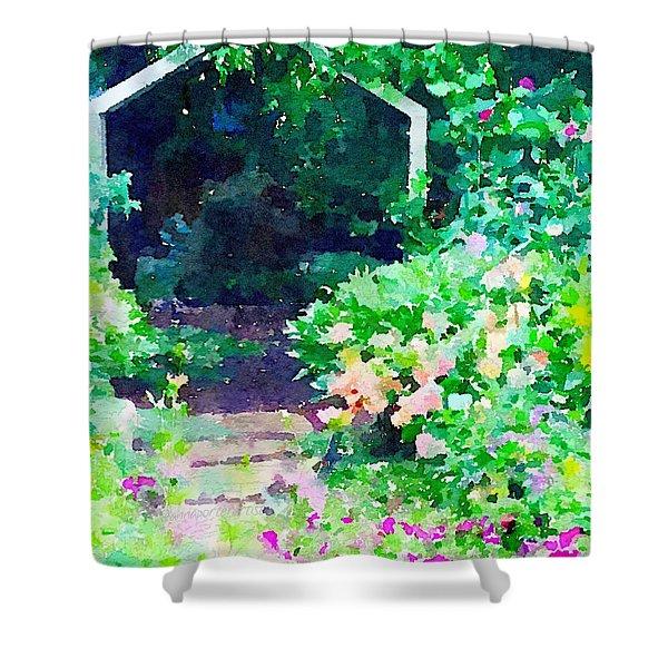 Garden Path Shower Curtain