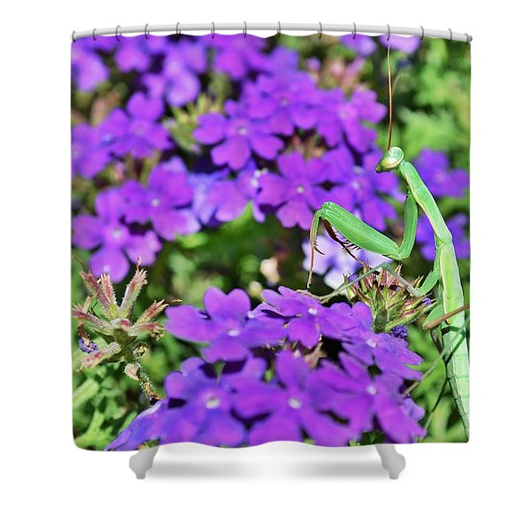 Garden Prayer Shower Curtain