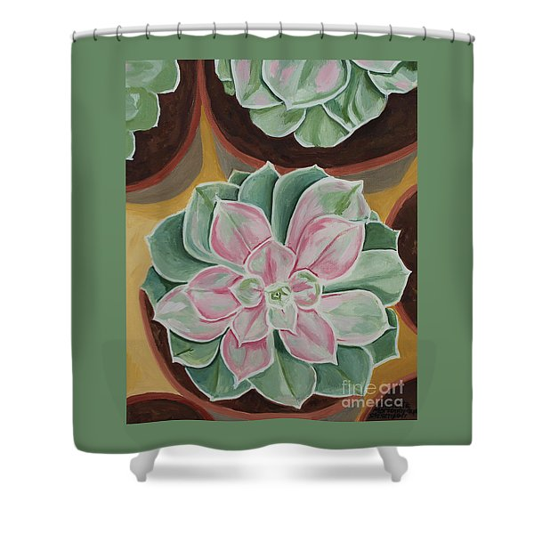 Garden Rossette Shower Curtain
