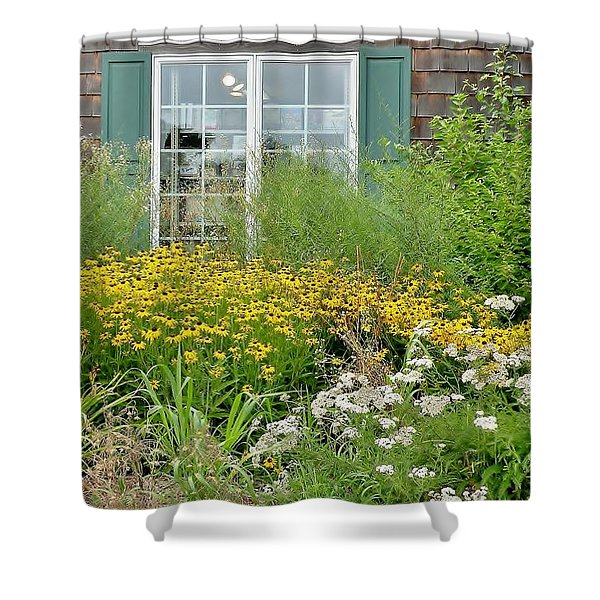 Gardens At The Good Earth Market Shower Curtain