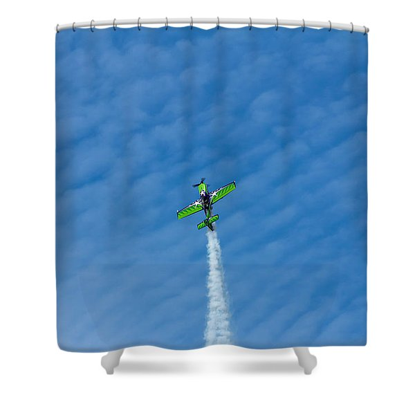 Gary Ward Taking His Mx2 To Great Heights Shower Curtain