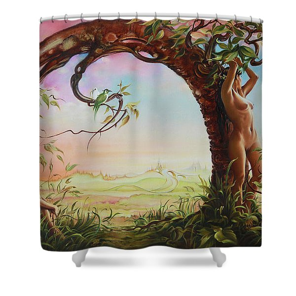 Gate Of Illusion Shower Curtain