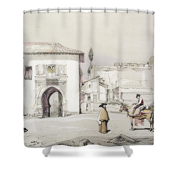 Gate Of The Vine , From Sketches Shower Curtain