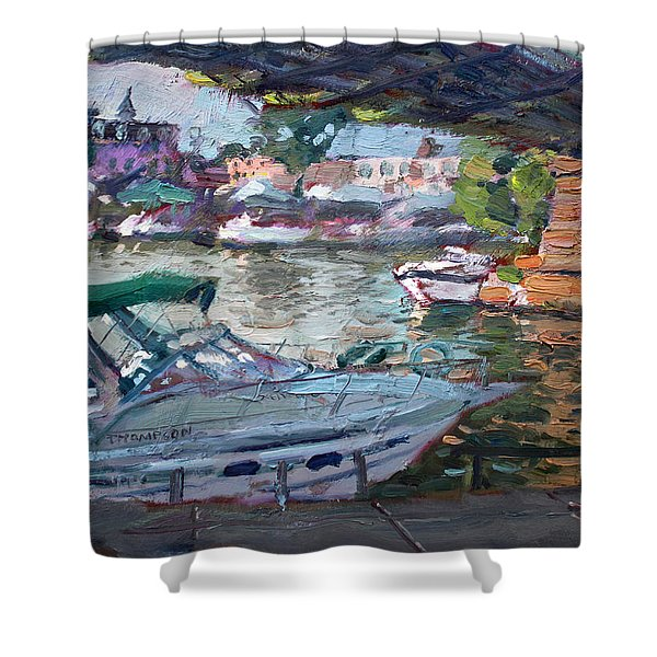 Gateway Harbor North Tonawanda Shower Curtain