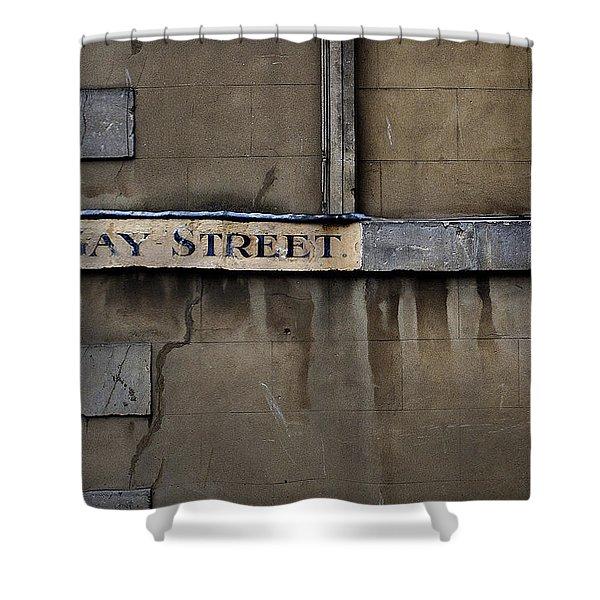 Gay Street Denise Dube Shower Curtain