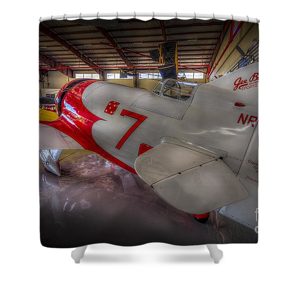 Gee Bee Super Sportster Shower Curtain