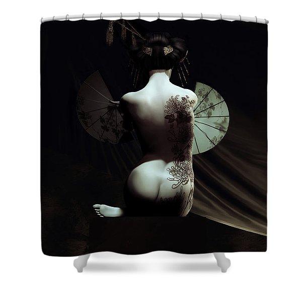 Geisha Shower Curtain