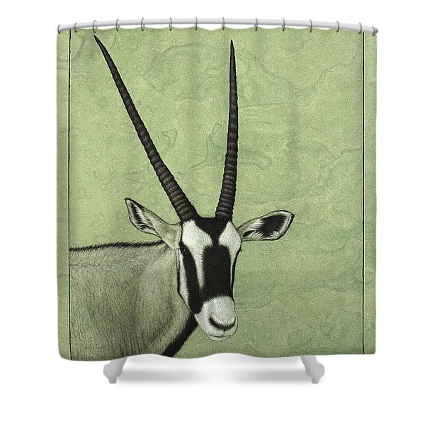 Gemsbok Shower Curtain
