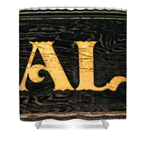 General Store Sign Shower Curtain