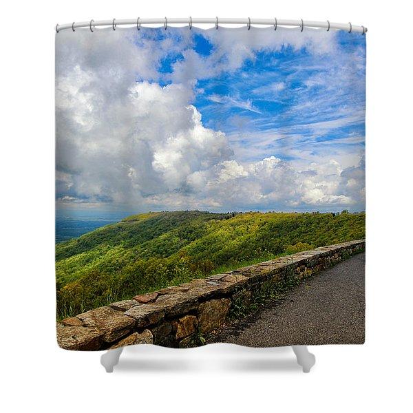 Generous Vista Shower Curtain