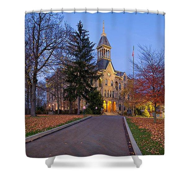 Geneva College Shower Curtain