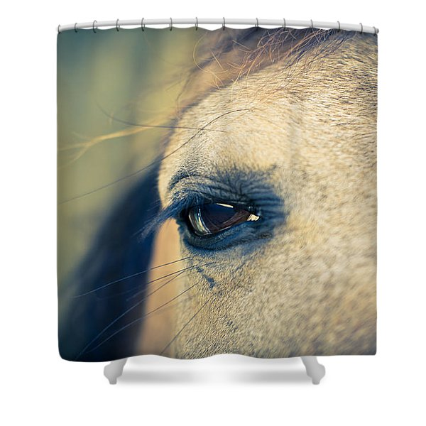 Gentle Eye Shower Curtain