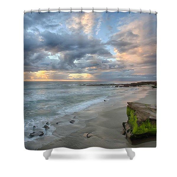 Gentle Sunset Shower Curtain