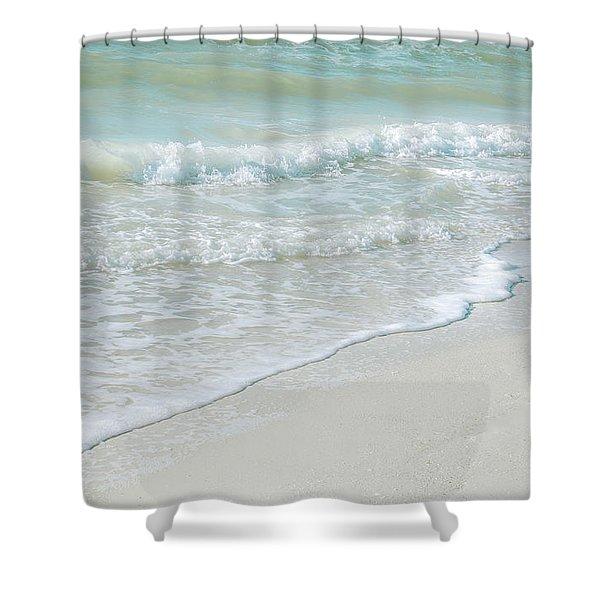 Gentle Waves Shower Curtain
