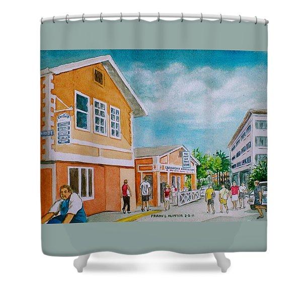 Georgetown Grand Cayman Shower Curtain