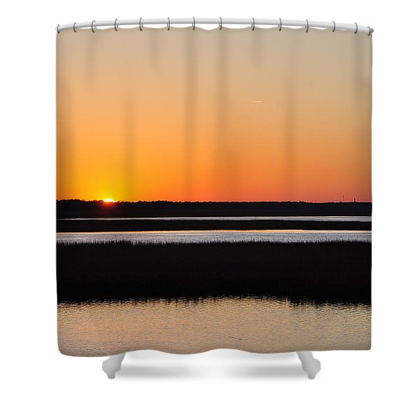Georgia Sunset Shower Curtain