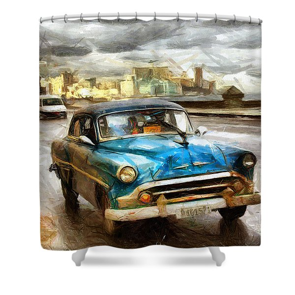 Get Outta My Dreams Get Into My Car Shower Curtain