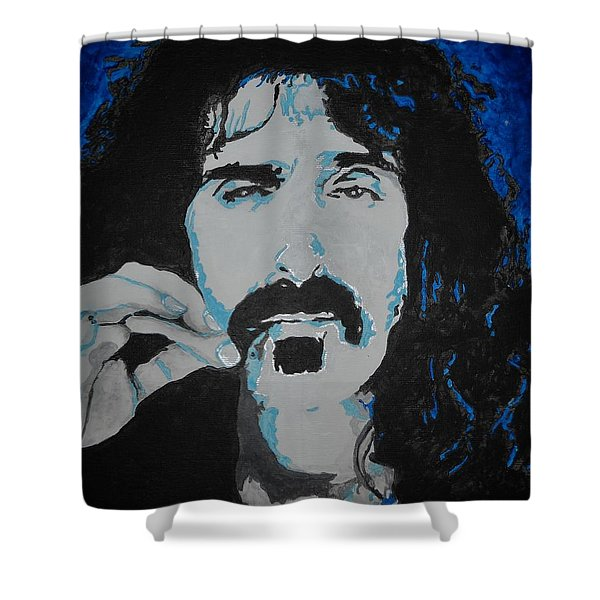 Get Zapped Shower Curtain