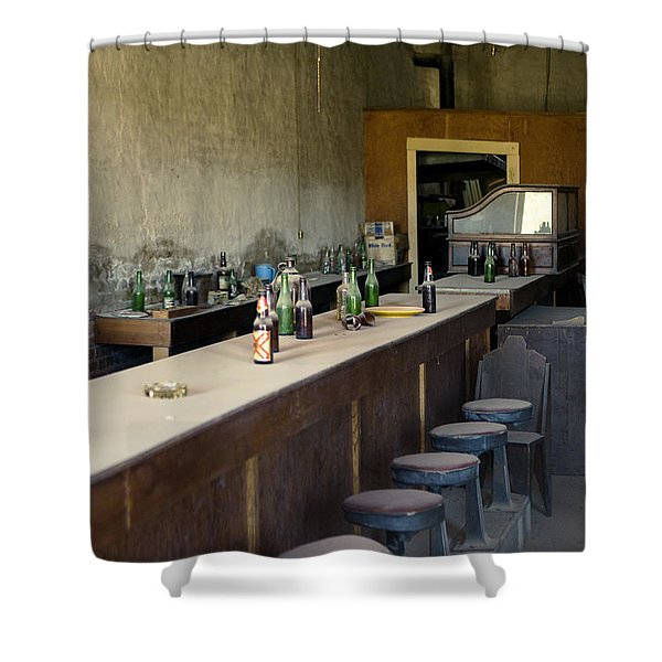 Ghost Town Saloon Shower Curtain
