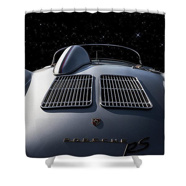 Porsche 550 Spyder Shower Curtain