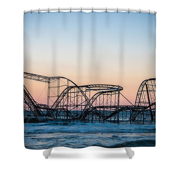 Giant Of The Sea Shower Curtain