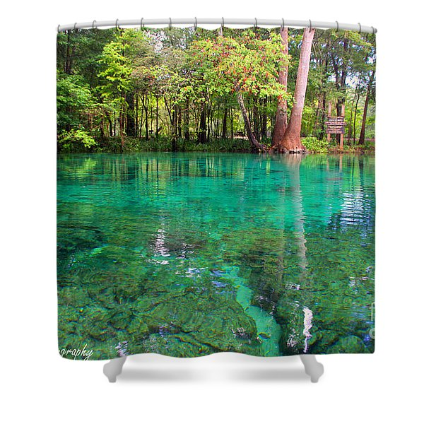 Ginnie Spring Along The Santa Fe Shower Curtain