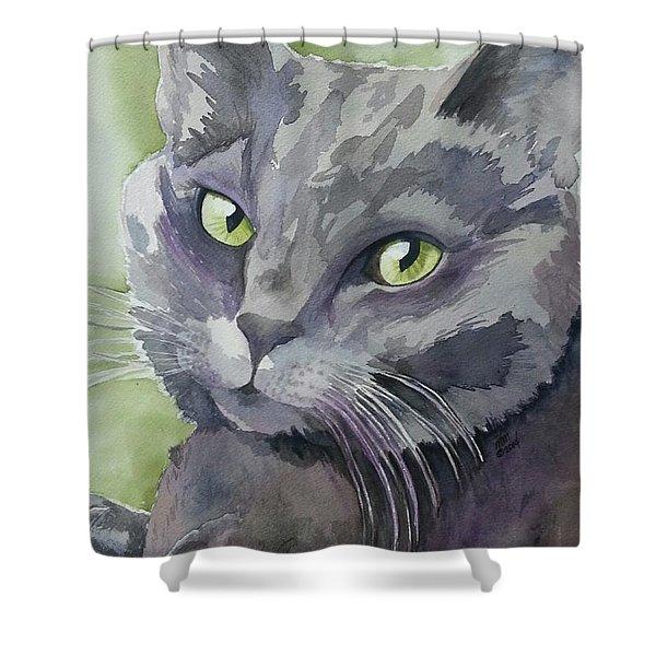 Girlfriend Shower Curtain