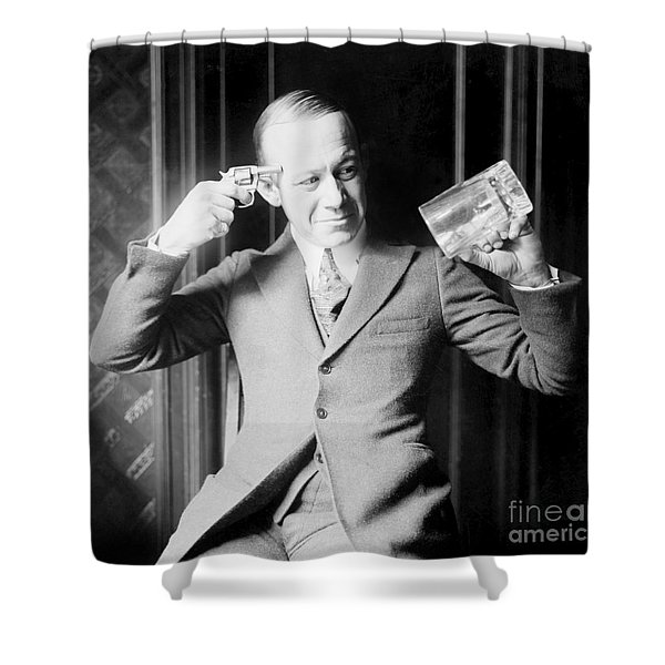 Give Me Beer Or Give Me Death Shower Curtain