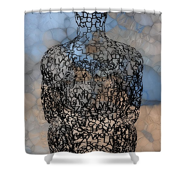 Giving Thought Shower Curtain
