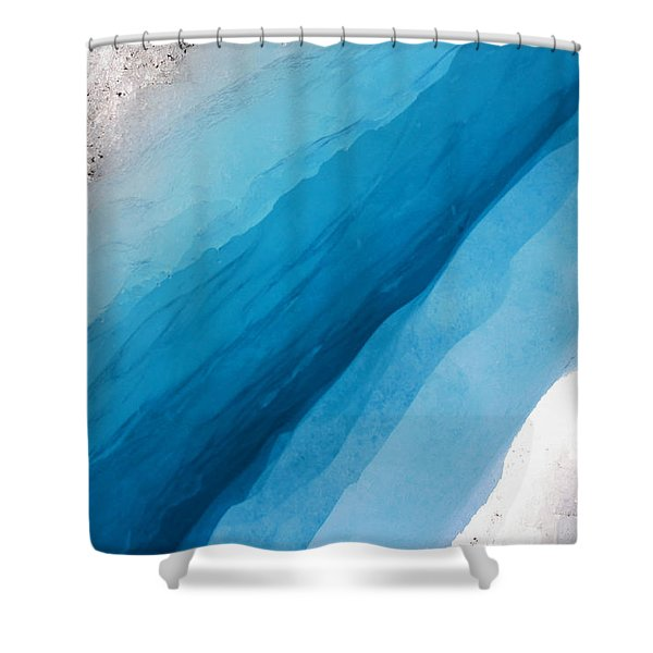 Glacial Rift Shower Curtain
