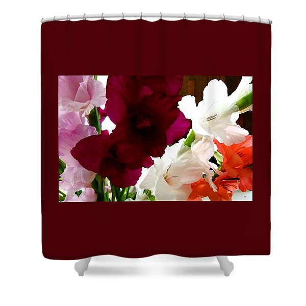 Glad Time Shower Curtain