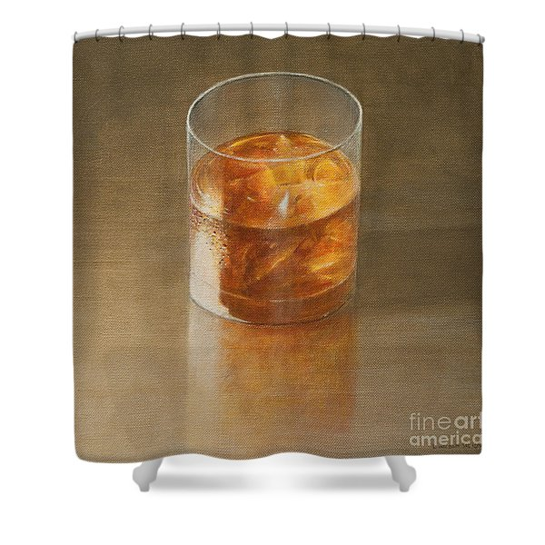 Glass Of Whisky 2010 Shower Curtain