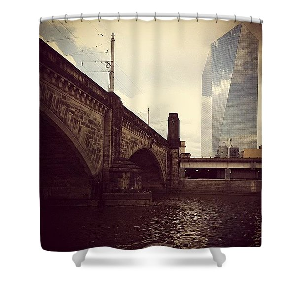 Glass View Shower Curtain